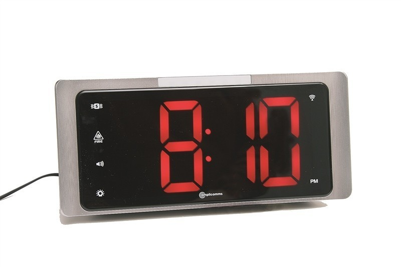 Alarm clocks hearing impaired