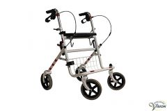 Rollator type Provo lightweight, weight approx. 8.6 kg, colour white