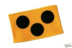 Symbol brace for traffic or sport, width of 38 cm.