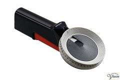 Braille labeler made of synthetic.