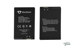 Battery Li-Ion for Blindshell Classic mobile phones.
