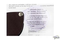 Eschenbach folding pocket magnifier 1740160 magnifies 3.5 X