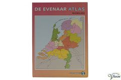 Evenaar large-print atlas with Holland
