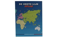 Big Line large print atlas of the Netherlands and provinces, Europe and remaining parts of the world