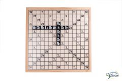 SenseWorks Scrabble-XL for the partially sighted, board dimensions 60 x 60 cm.