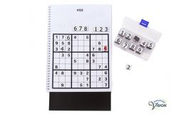 SenseWorks Sudoku-XL for partially sighted, synthtic ciphering puzzle