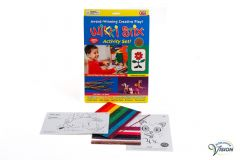 Wikki Stix, touch and education game with colored stix made of nonslip material