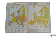 Large print topographical maps